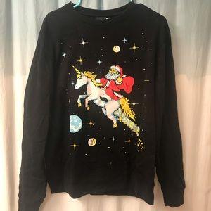 Festive funny Christmas sweatshirt